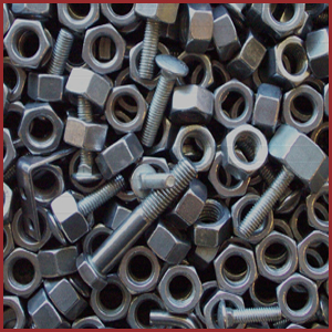 Duplex steel nut and bolts manufacturer exporters suppliers